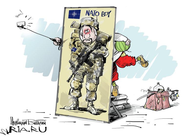А в ЕС и НАТО хоть в курсе инициатив Порошенко?